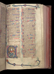 Psalm 80 (81), in the Penwortham Breviary